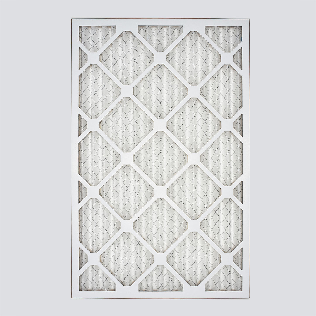 12x20x1 air filter top view