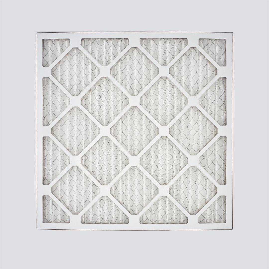 16x16x1 air filter top view
