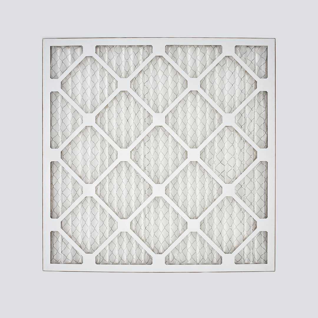 18x18x1 air filter top view
