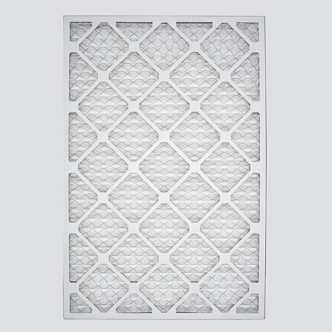 18x30x1 air filter top view