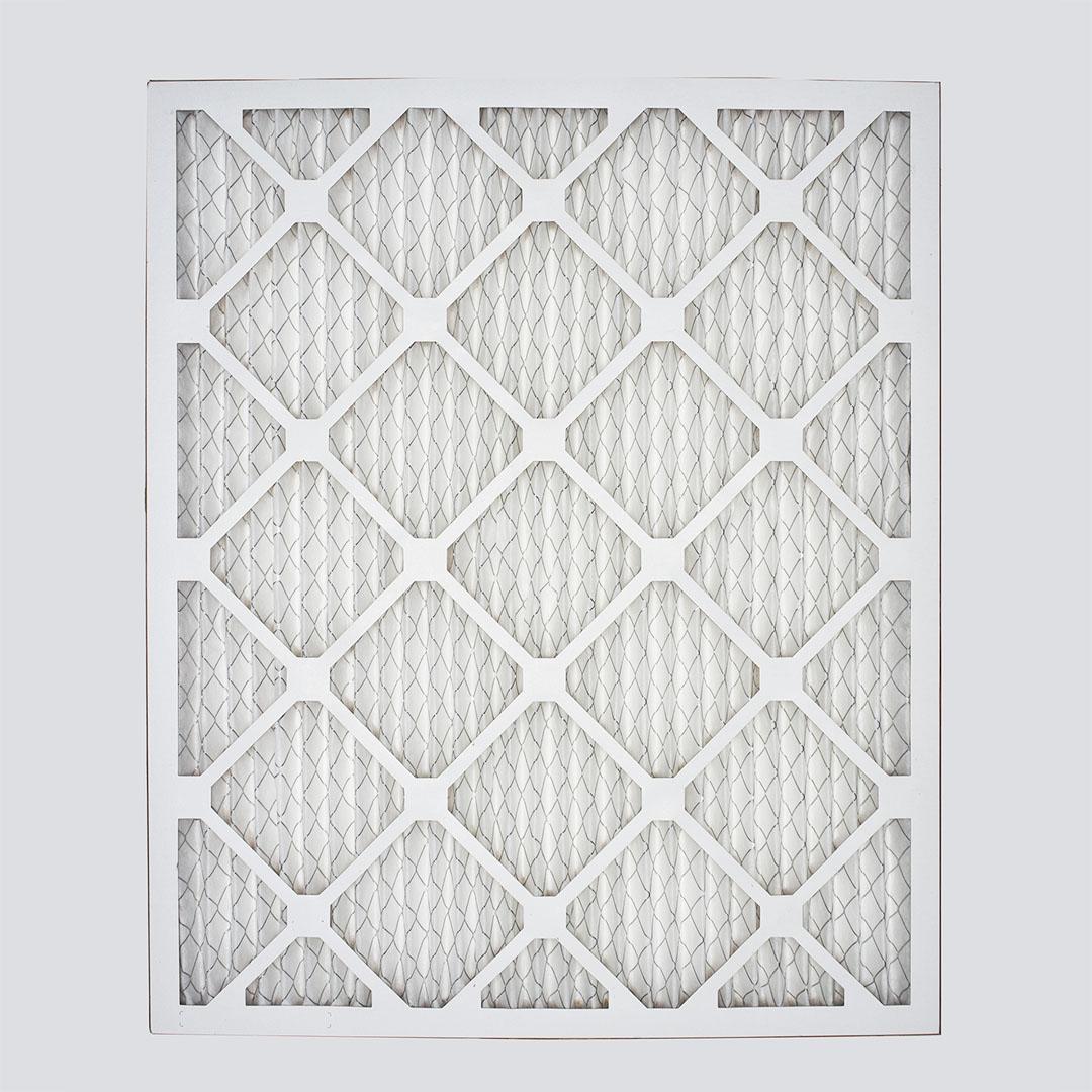 20x24x1 air filter top view