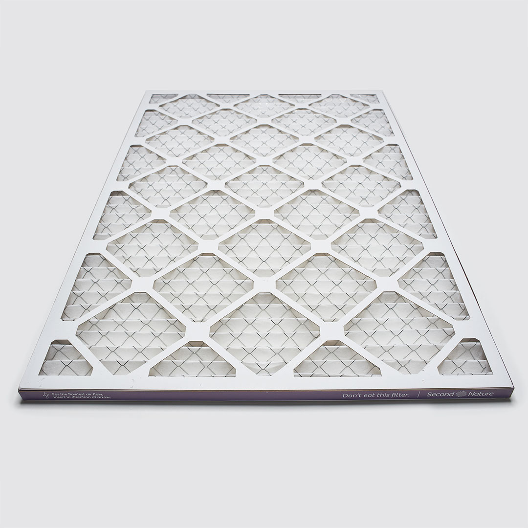 20x30x1 air filter 45 degree angle view
