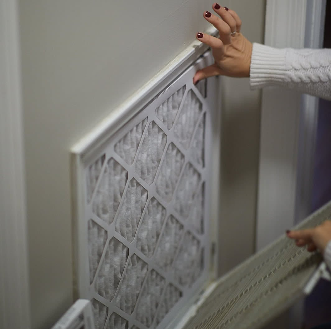how to regularly replace your air filters