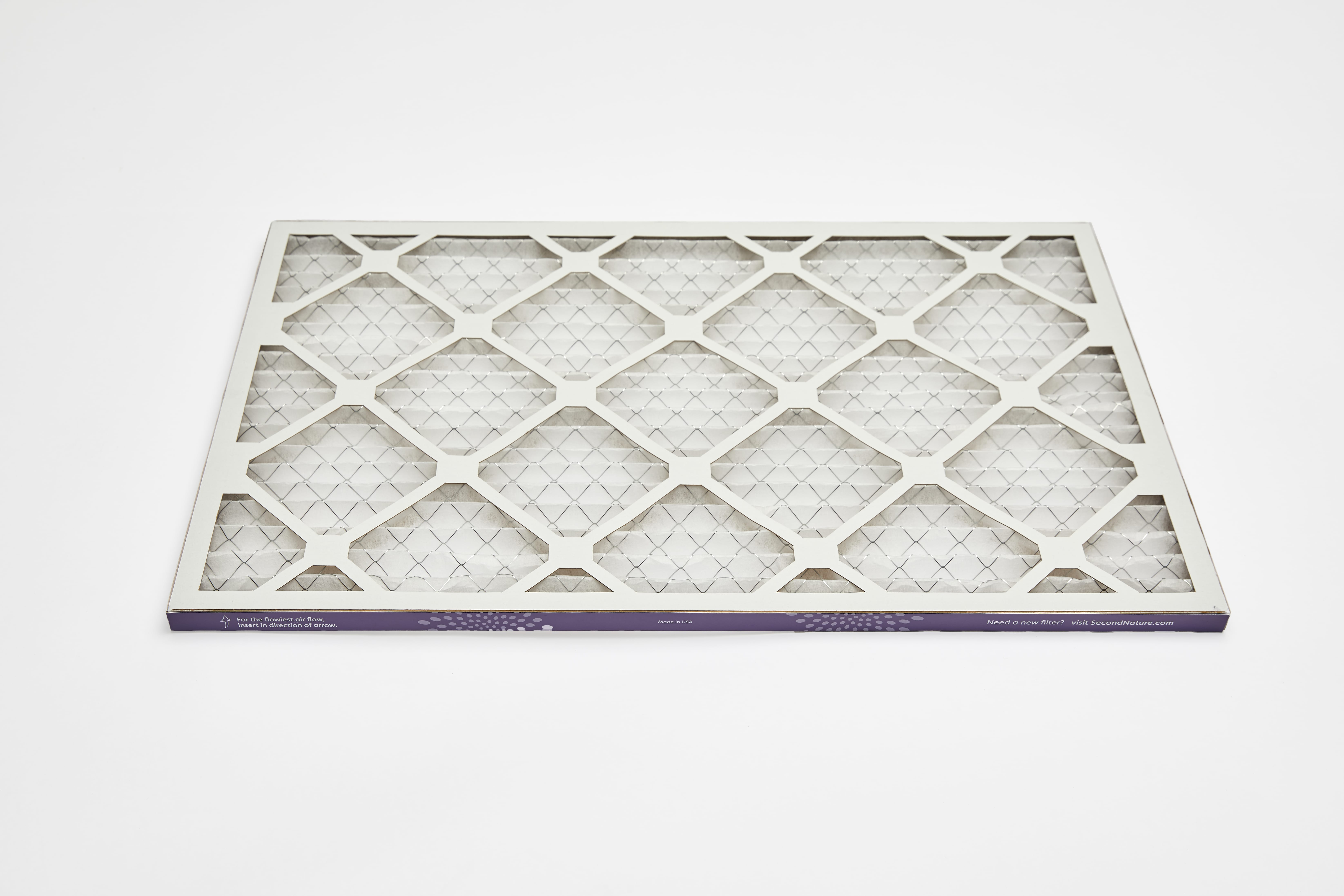 rectangle 16x20x1 home air filter