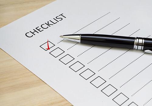 Vacation Preparation Checklist