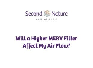 higher MERV filter affect air flow