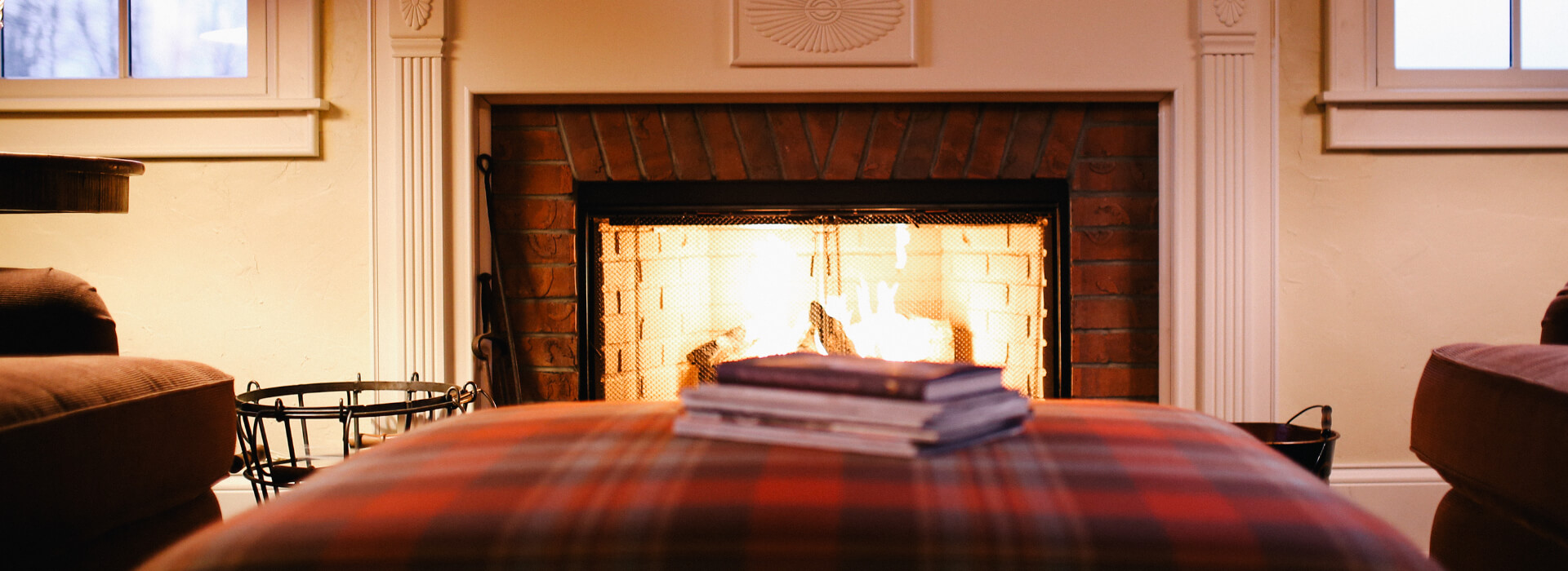 fireplaces can provide some great ambiance in the winter