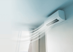 A healthy air conditioning will make summer a lot more comfortable